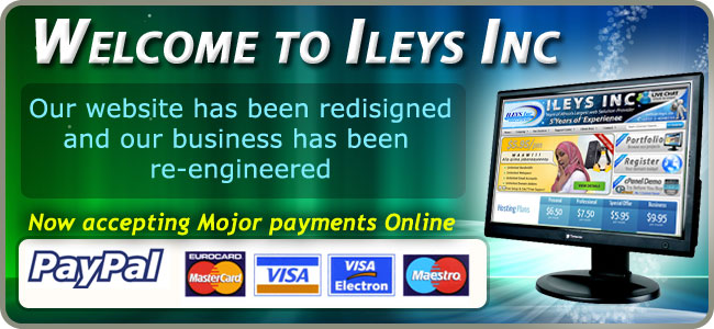 Ileys Inc Special Offer