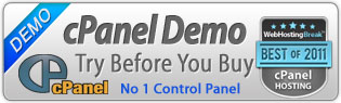 Test drive our cPanel
